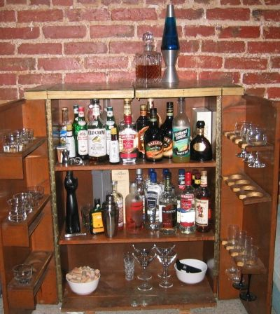 5 December 2007, Repeal Day, my liquor cabinet