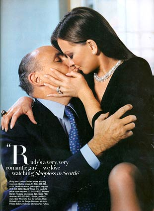 March 2007, Harper's Bazaar, Rudolph and Judith Nathan Giuliani pressin' face
