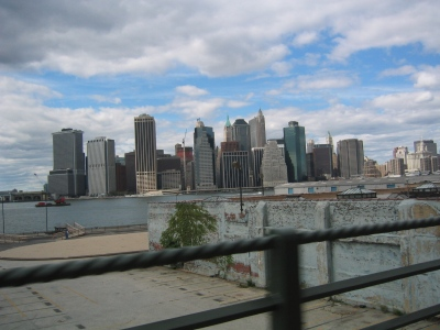 16 September 2007, the Financial District from the Brooklyn-Queens Expressway