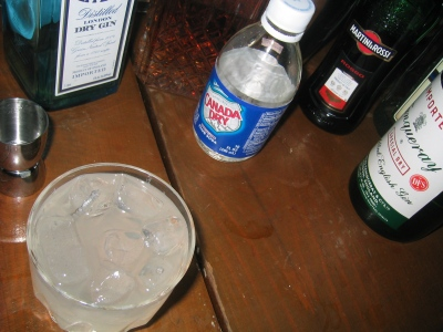 A cocktail on Repeal Day, 5 December 2008