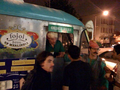 The Fojol Brothers traveling culinary carnival, 14th Street, just south of U Street, 20 June 2009, 1:45 AM
