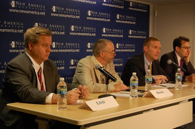 Michael Lind, Gordon Adams, Christopher Preble, Michael Cohen, The Power Problem, New America Foundation, Washington, D.C., 24 July 2009