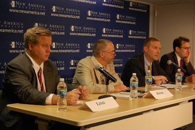 Michael Lind, Gordon Adams, Christopher Preble, Michael Cohen, The Power Problem, New America Foundation, Washington, D.C., 24 July 2009