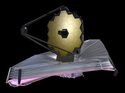 Artist's conception of the James Webb Space Telescope, NASA, 2009