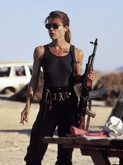 1991, Terminator II: Judgment Day, Linda Hamilton