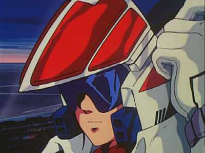 Robotech, Rick Hunter in the thinking cap