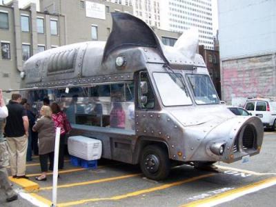Seattle's Maximus Minimus pig truck