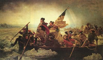 Emanuel Leutze, Washington Crossing the Delaware, 1851, Metropolitan Museum of Art, New York City