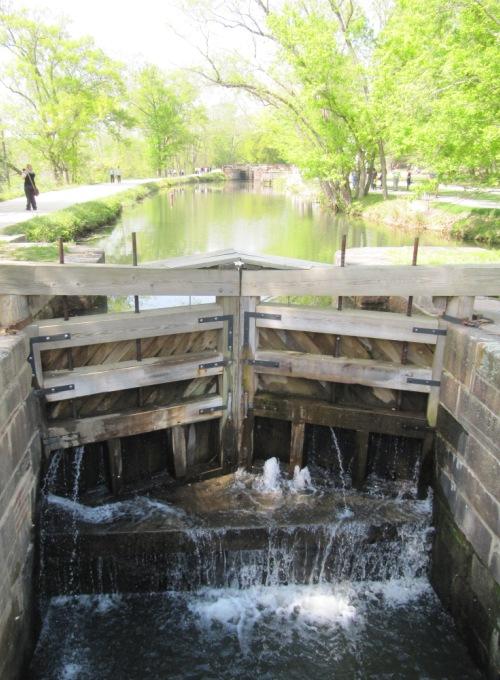 Lock 18, the C&O Canal at Great Falls, 27 April 2013